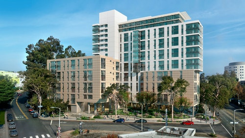 UCLA Gayley Heights Student Apartments